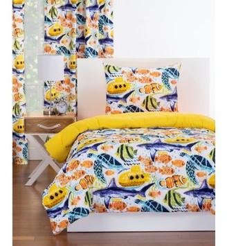 Crayola LLC Submarine Reversible Comforter Set