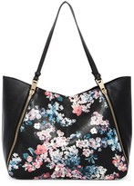T-Shirt & Jeans Pretty in Punk Floral Tote