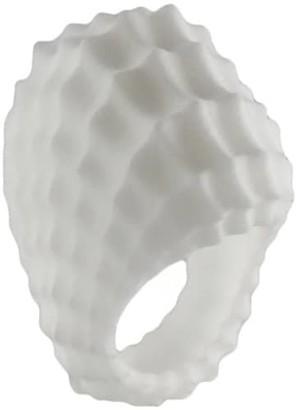 Marie June Jewelry Tidal Ring White