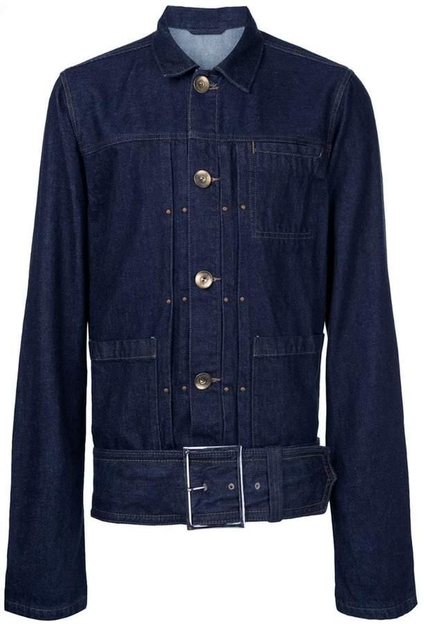 Puma Maison Yasuhiro belted denim jacket
