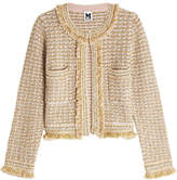 M Missoni Knit Jacket with Wool, Cotton and Metallic Thread