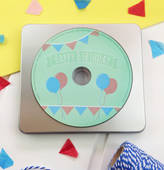 Jagsbery Baby's First Birthday Personalised Song CD