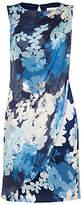 Damsel in a Dress Cerulean Print Dress, Blue