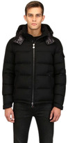 Moncler Montgenevre Light Flannel Down Jacket