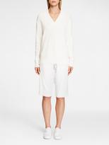 DKNY Pure Cotton V-Neck Pullover