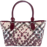 Burberry Supernova Check Landscape Tote