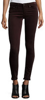 Rag & Bone Velvet Skinny Jeans, Wine