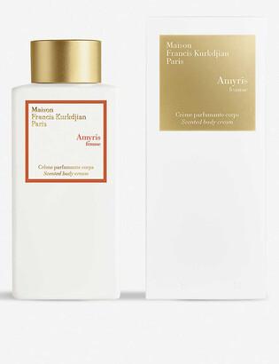 Francis Kurkdjian Amryis femme scented body cream 250ml