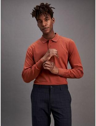 Tommy Hilfiger Slim Fit Interlock Cotton Polo