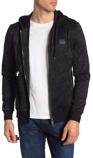 Antony Morato Hooded Fleece Camo Jacket