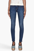 Current/Elliott Indigo The Ankle Skinny Low Rise