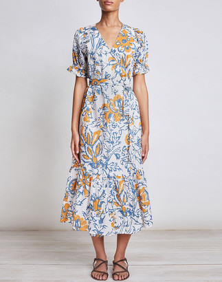 Madewell Apiece Apart Monterossa Wrap Dress