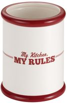 "Cake BossTM Countertop Accessories ""My Kitchen, My Rules"" Tool Crock"