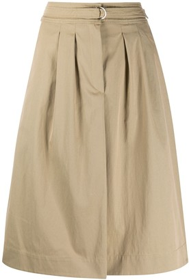 A.P.C. Utility Knee-Length Skirt
