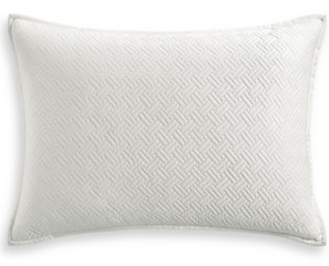 Hotel Collection Closeout! Classic Botanical Toile Quilted Standard Sham, Created for Macy's Bedding