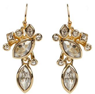 Alexis Bittar Asteria Nova Navette Crystal Cluster Drop Earrings