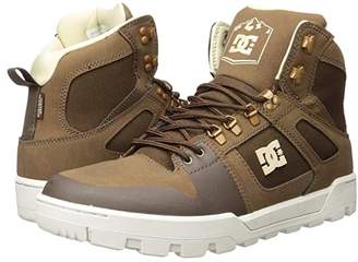 DC High-Top WR Boot (Brown) Men's Lace-up Boots