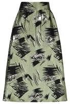 Traffic People High Waist Print Skirt