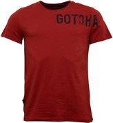 Gotcha Mens Printed Fashion T-Shirt Ketchup
