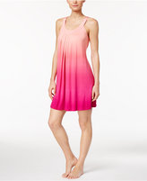 Alfani U-Neck Dip-Dyed Knit Chemise, Only at Macy's