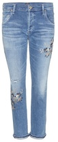 Citizens of Humanity Emerson Slim Boyfriend Embroidered Jeans