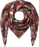 Burberry Printed Silk Scarf