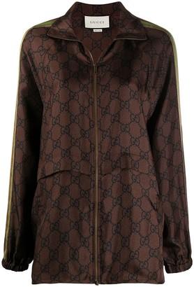 Gucci GG Web zipped jacket