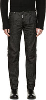 DSQUARED2 Black Wash Slim Jeans