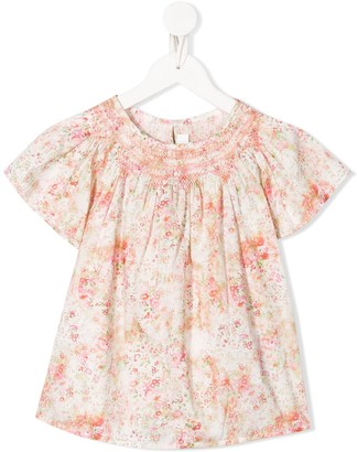Bonpoint Floral-Print Top