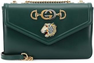 Gucci Rajah Medium leather shoulder bag