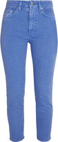 Acne Studios Patti cropped high-rise skinny jeans