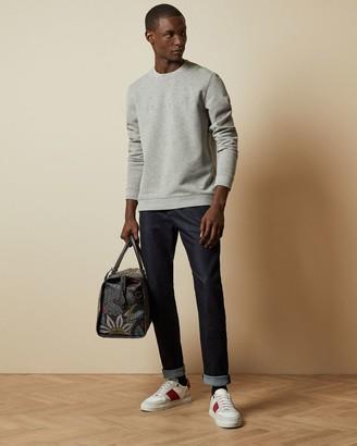 Ted Baker Straight Dark Wash Cotton Jeans