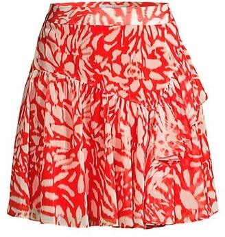 Heidi Ikat Chiffon Skirt