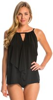 Miraclesuit Suit Yourself Ruffle Peephole Tankini Top 8137954