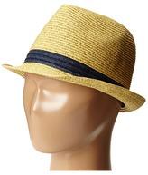 San Diego Hat Company Kids - PBK3210 Fedora w/ Contrast Band Caps