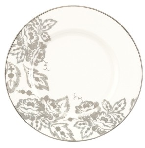 Lenox L By Dinnerware, Floral Waltz Accent Plate