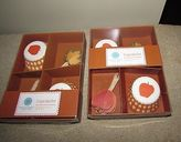 Martha Stewart Cupcake Liner Harvest Design Lot Of 2 Boxes 50 Liners & Toppers