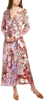 Diane von Furstenberg Tilly Silk Midi Dress