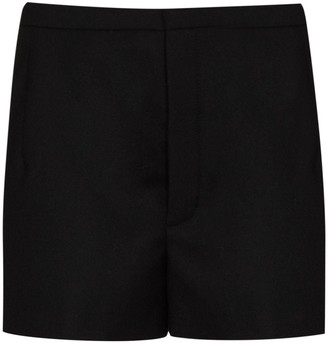 Saint Laurent Tailored Pleated Shorts