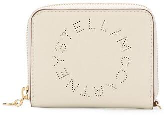 Stella McCartney Stella perforated-logo purse