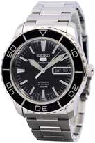 Seiko Men's SNZH55 Silver Stainless-Steel Automatic Watch with Dial