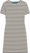 MiH Jeans Jesais striped slub cotton-jersey mini dress