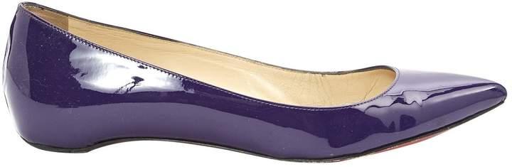 Christian Louboutin Patent leather ballet flats