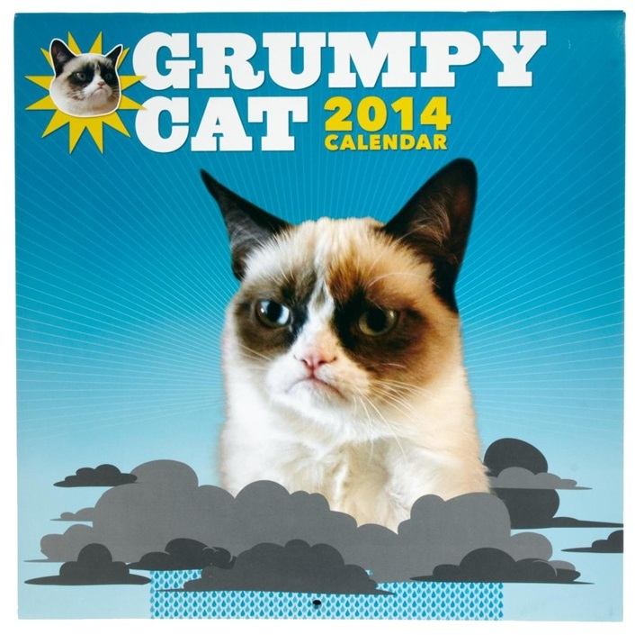 2014 Grumpy Cat Wall Calendar