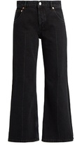 Balenciaga Contrast-panel straight-leg jeans