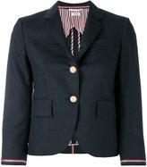 Thom Browne two button blazer - women - Silk/Wool - 38