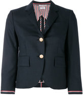 Thom Browne two button blazer - women - Wool/Silk - 40
