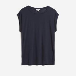 Armedangels Night Blue Tencel Jilaa T Shirt - XS / Bleu nuit