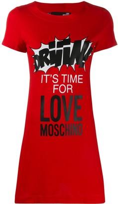 Love Moschino mini T-shirt dress