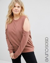 Asos Sweatshirt with Clean Cold Shoulder